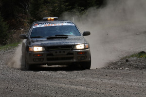 Safety Car at the Rocky Mountain Rally