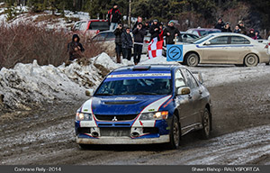 Cochrane Winter Rally - 2014 Winners